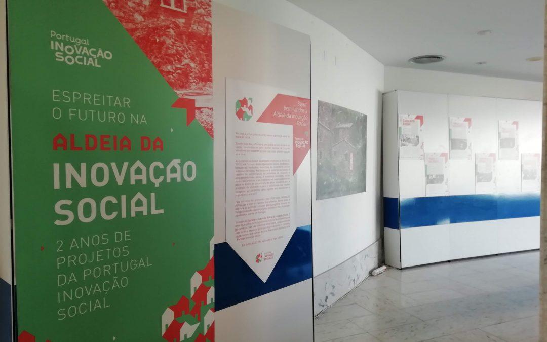"""Exposição """"Espreitar o futuro na Aldeia da Inovação Social"""" em Évora até 14 de dezembro"""