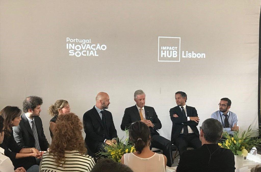 Rei dos Belgas: encontro com empreendedores sociais