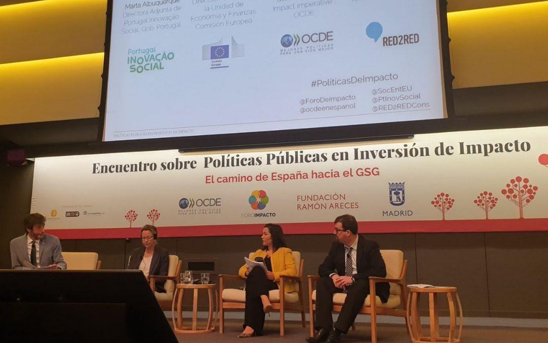 Encuentro sobre Políticas Públicas en Inversión de Impacto, Madrid