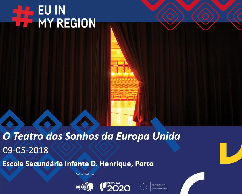Portugal Inovação Social celebra o Dia da Europa com o espetáculo A Viagem em escola do Porto