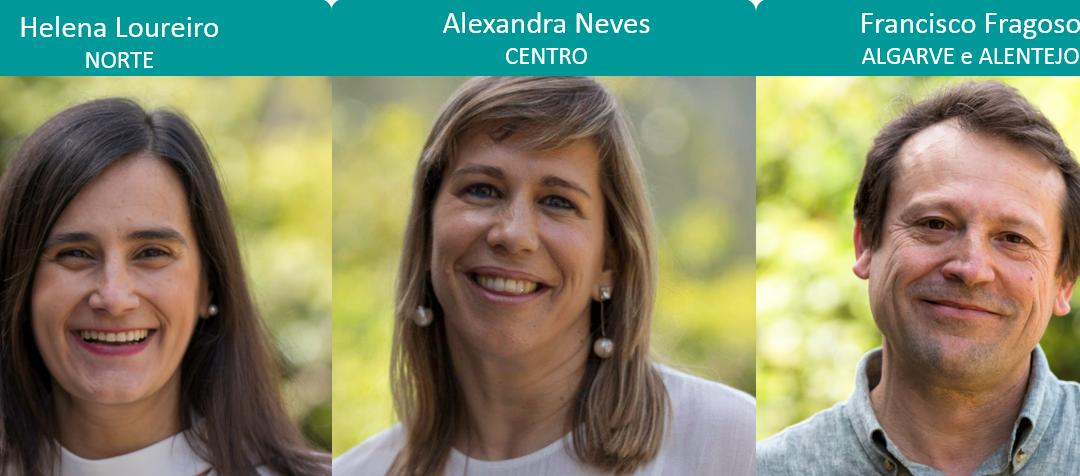 Equipa de Representates Regionais da Portugal Inovação Social