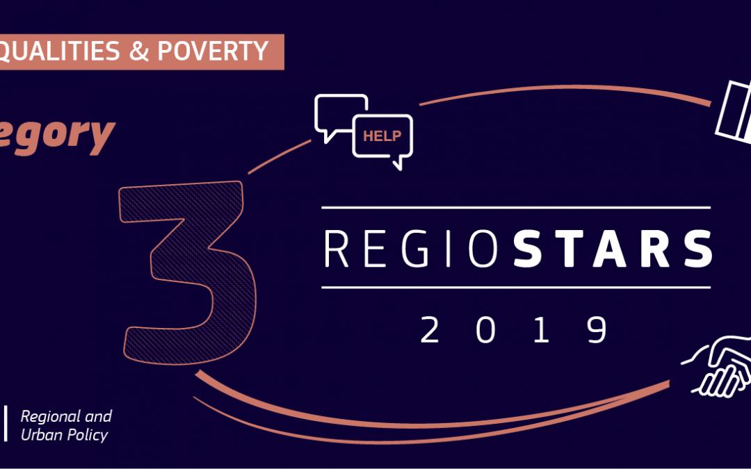 Projetos apoiados pela Portugal Inovação Social na corrida aos prémios Regiostars 2019
