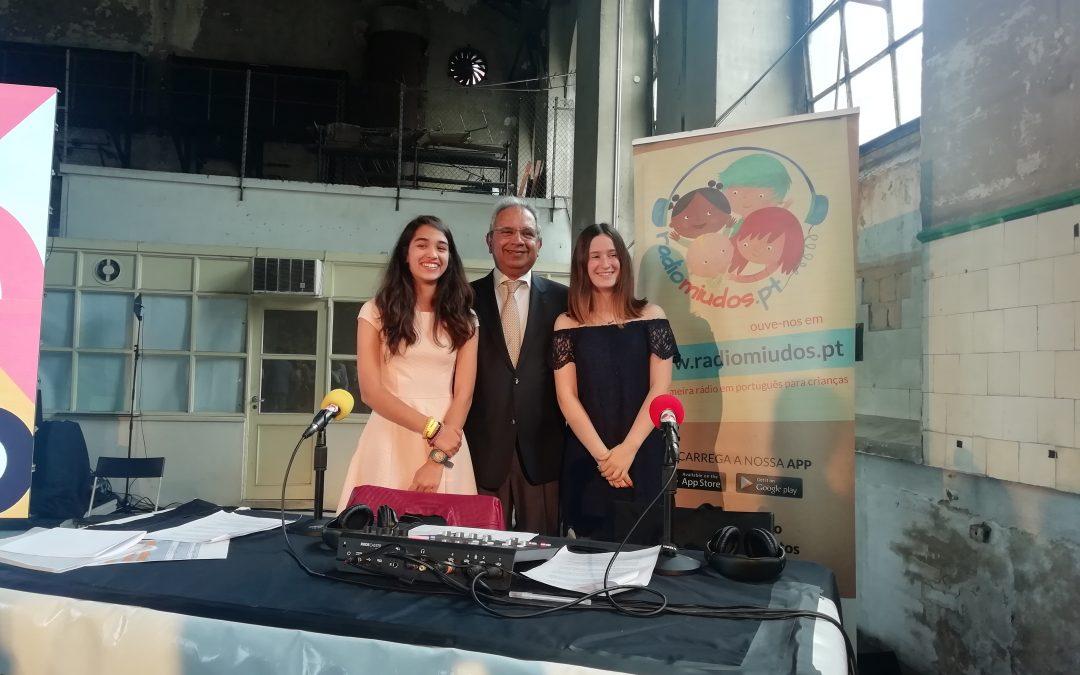 Rádio Miúdos: oiça a gravação da sessão de lançamento dos concursos de Lisboa