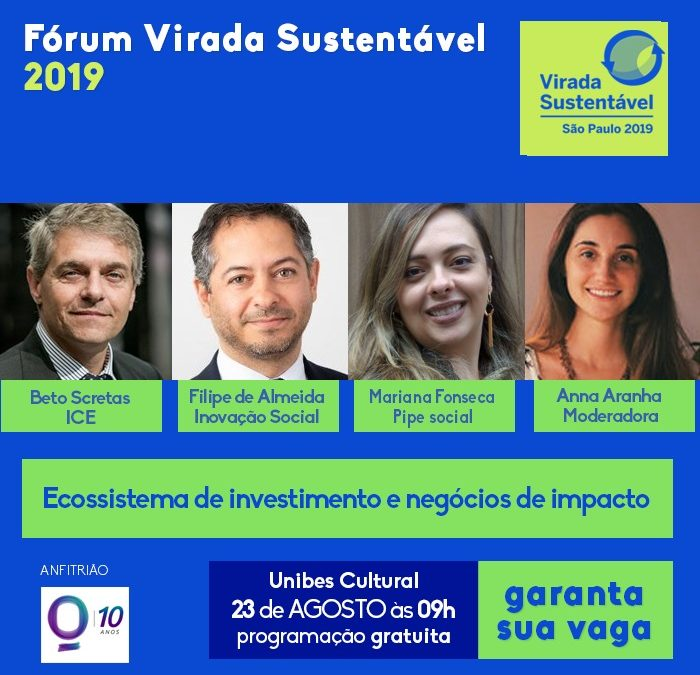 """Portugal Inovação Social em São Paulo para participar na """"Virada Sustentável"""""""