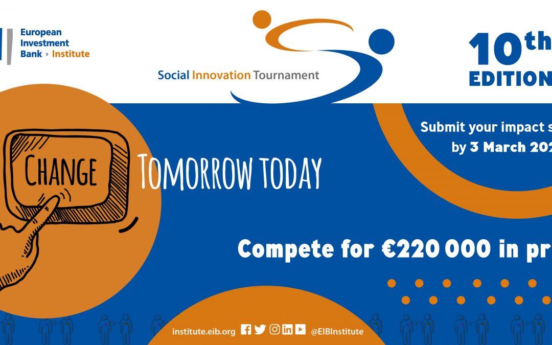 Torneio de Inovação Social – Candidaturas abertas até 3 de março de 2021